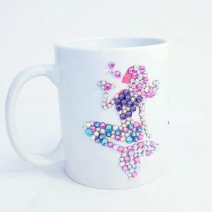 Crystals Encrusted Mug - Mermaid