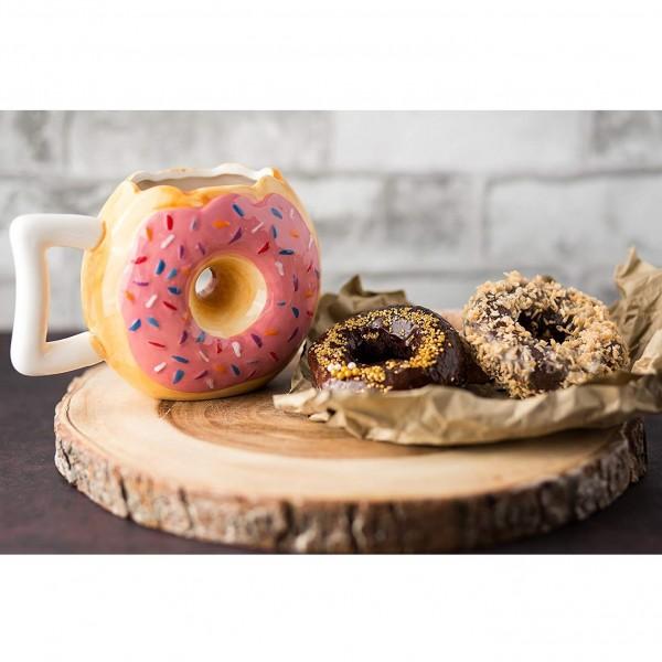 Donut Mug - Pink