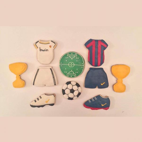 Footballers Cookies