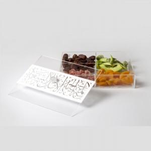 4-Section Snack Platter