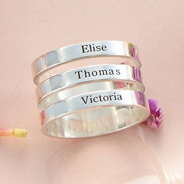 Three Names Ring