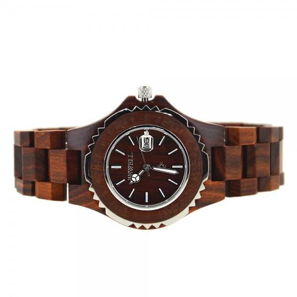 Ladies' Natural Wood Watch - Brown
