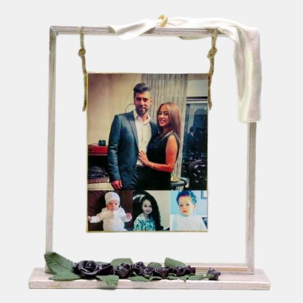 Handmade Photo Frame - Purple