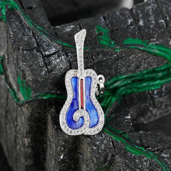 Blue Guitar Pendant