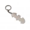 Silver Plated Batman Keychain