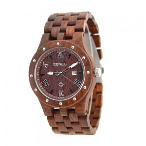Men's Natural Wood Watch - Brown