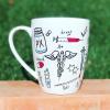 Doctor Hand-Painted Mug