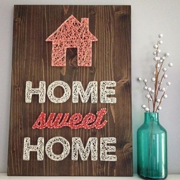 Handmade Home Sweet Home Wall Art