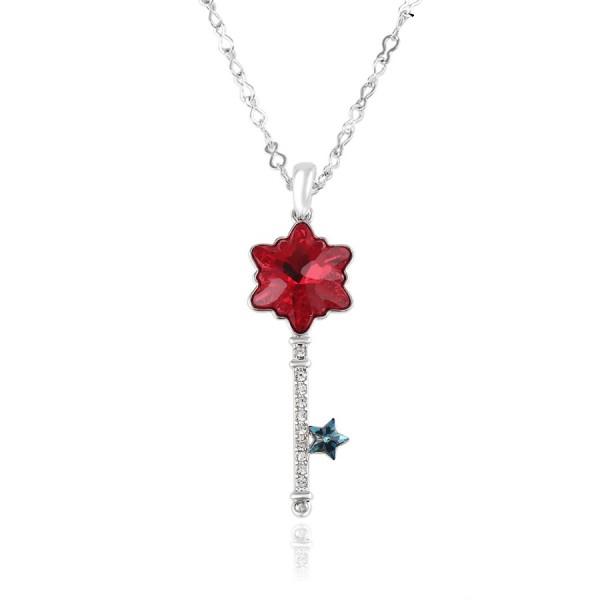 Crystal Key Necklace