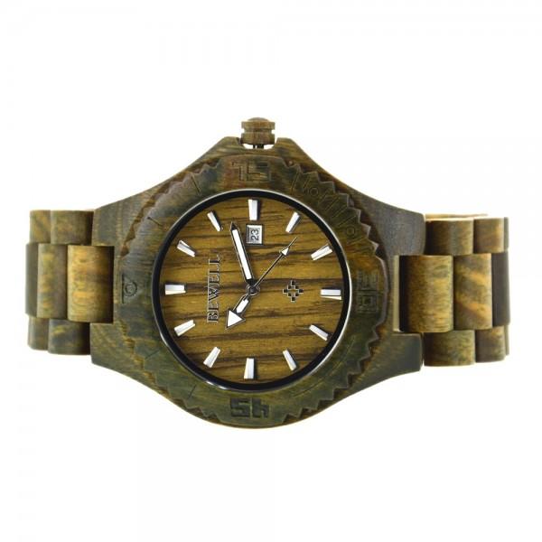 Men's Natural Wood Watch - Green