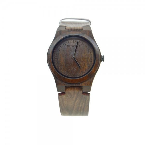 Ladies' Natural Wood Watch - Dark Brown