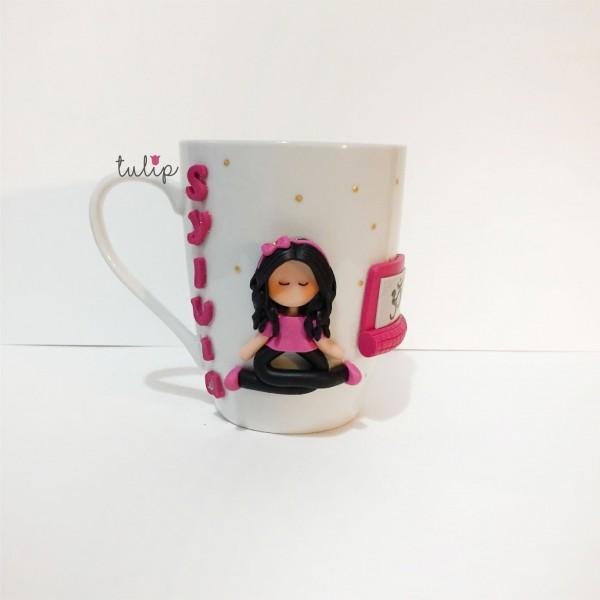 Yoga Girl Mug
