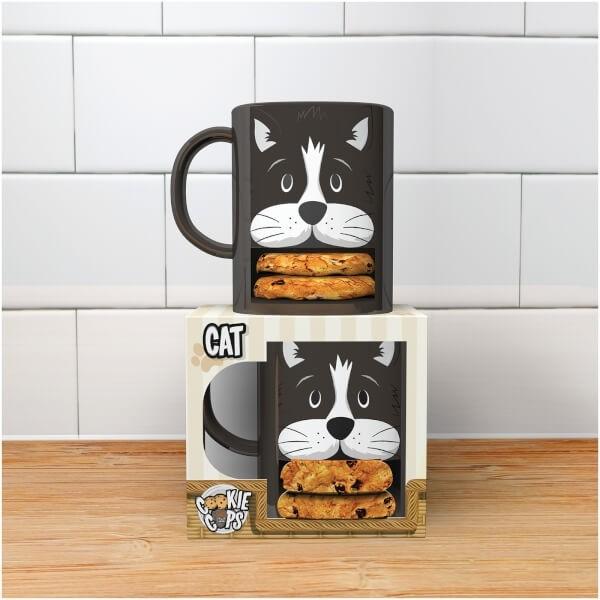 Cat Cookie Mug
