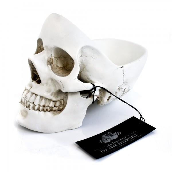 Skull Stuff Tidy-White
