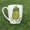 Pineapple Hand-Painted Mug