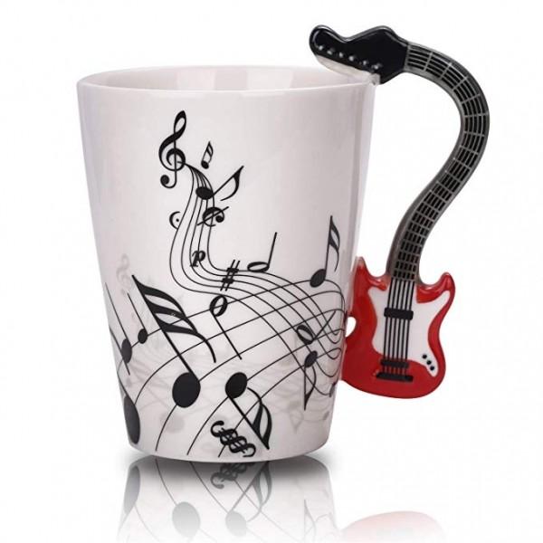 Guitar Mug - Red