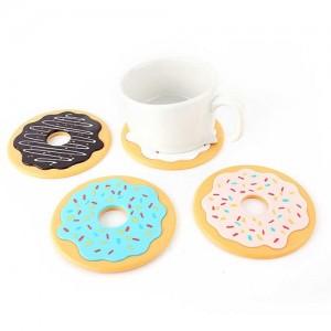 Set of 4 Donut Coasters