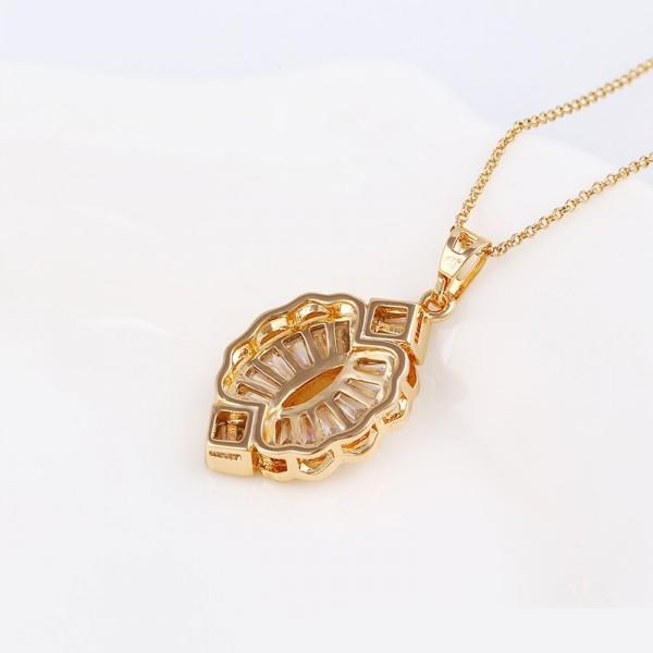 Crystal Ladybug Gold Plated Set