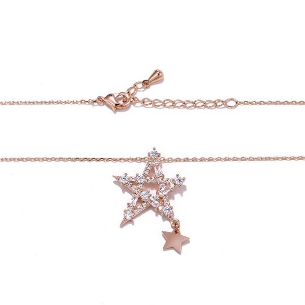 Crystals Encrusted Star Necklace