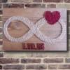 Customizable Handmade Infinity Wall Art