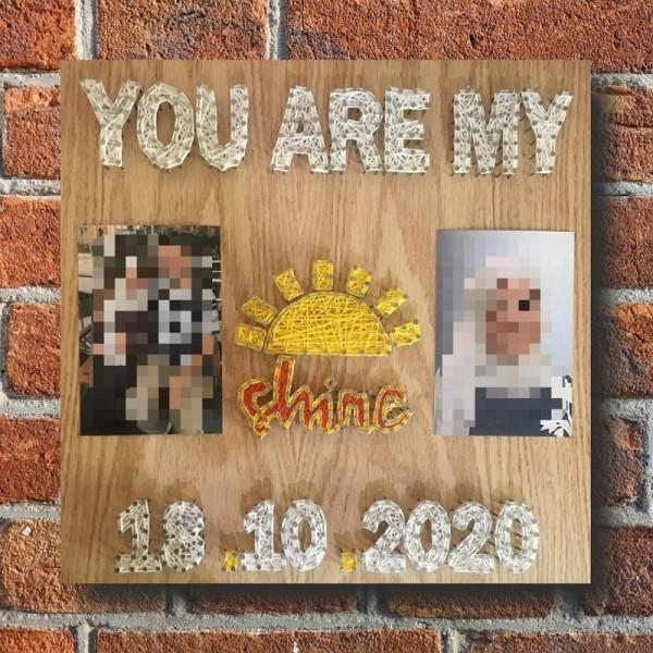 "Customizable Handmade ""My Shine"" Wall Art"