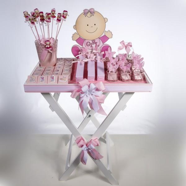 Welcome Baby (Girl/Boy) Chocolate Stand -Girl