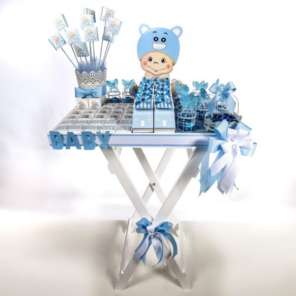 Welcome Baby (Girl/Boy) Chocolate Stand -Boy