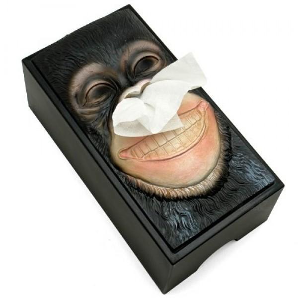 Monkey Tissue Box