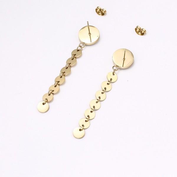 Gold Plated Rings Earrings