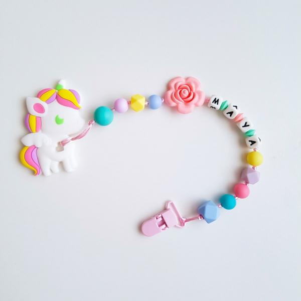 Unicorn Teether - Multicolored