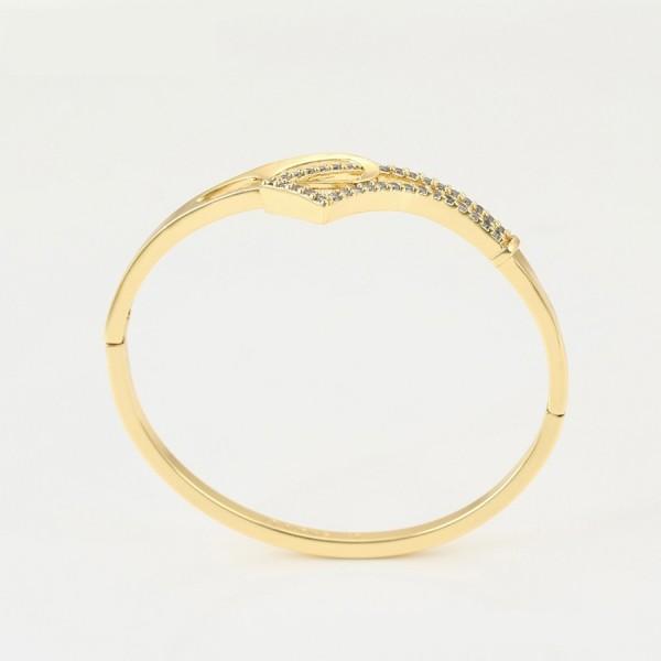 Gold Plated Elegant Bangle