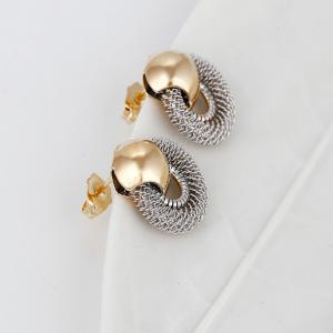 Mesh Knot Earrings