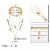 Gold Plated Vintage Necklace Set