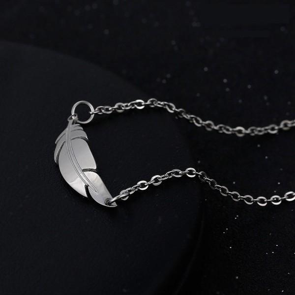 Stainless Steel Leaf Jewelry Set