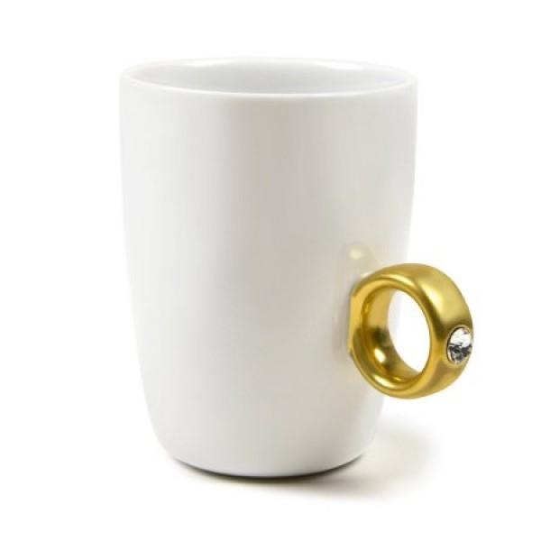 Ring Mug - Gold