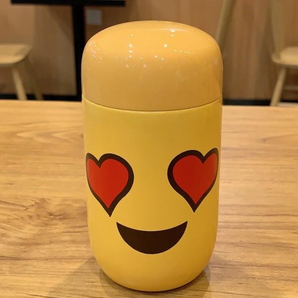 Emoji Travel Mug-Heart Eyes