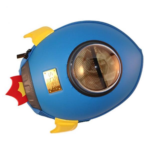 Space Rocket Backbag-Blue