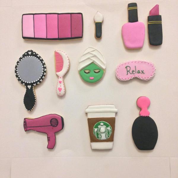 Makeup ِArtist Cookies