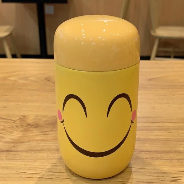 Emoji Travel Mug-Wide Smile
