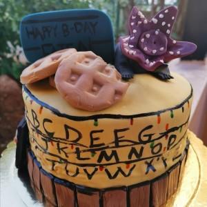 Strange Things Cake