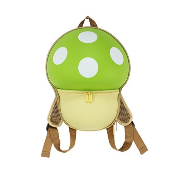 Mushroom Backbag for Kids-Green