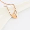 Heart & Key Necklace