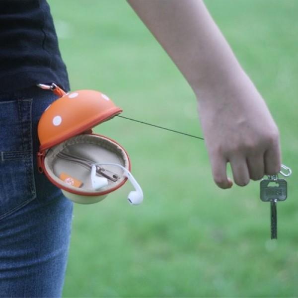 Mushroom Key Holder & Wallet