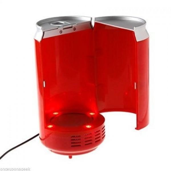 USB Can Shaped Cooler & Warmer Mini Fridge