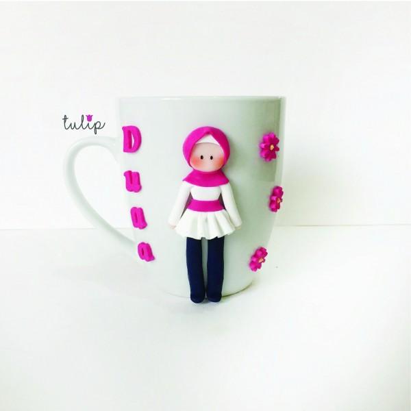 Hijab Style Mug - Fuchsia