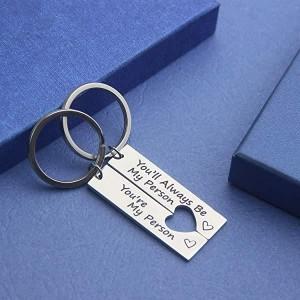 Love Couple Keychain Set