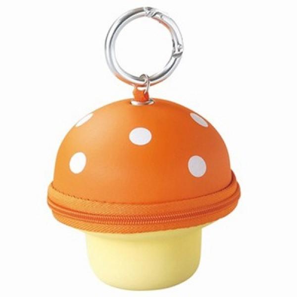 Mushroom Key & Wallet-Orange