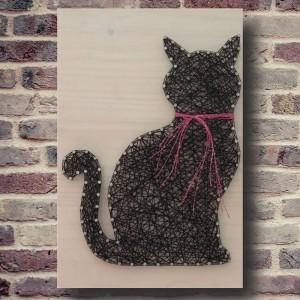 Handmade Cat Wall Art