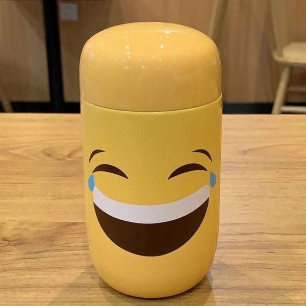 Emoji Travel Mug-Joy Tears