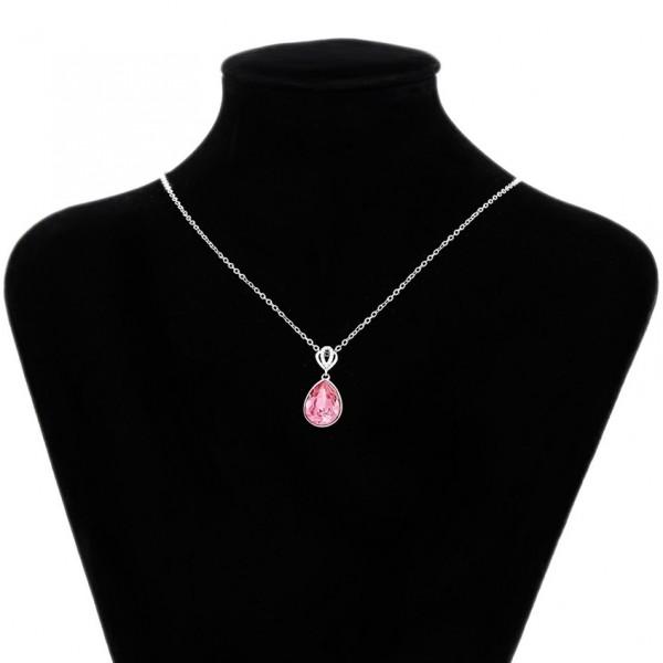 Rose Swarovski Necklace